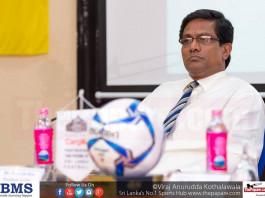 Anura De Silva President of FFSL