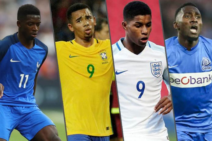 Young players who are debut in FIFA world cup