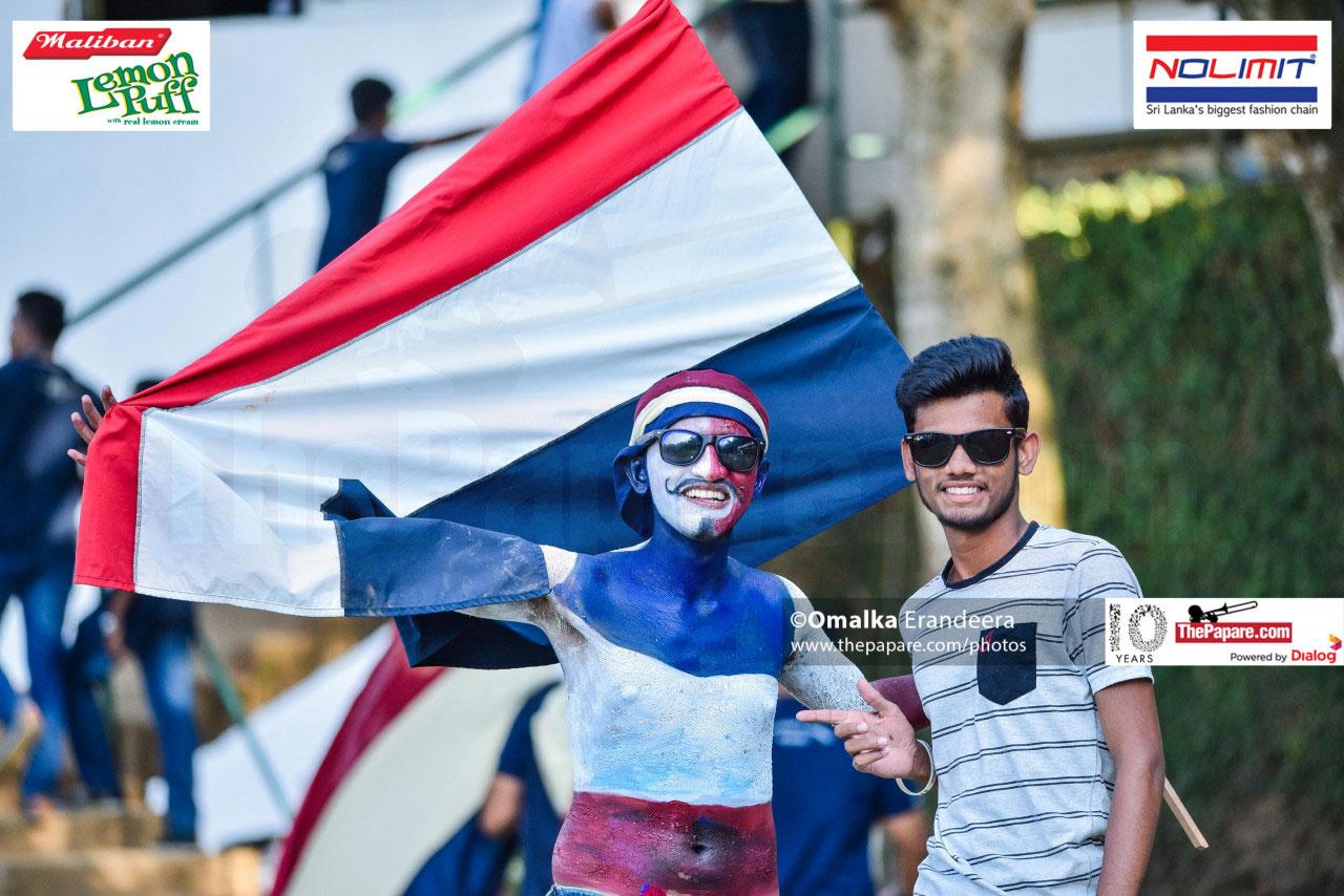 Fans Vidyartha College vs St.Sylvester's College