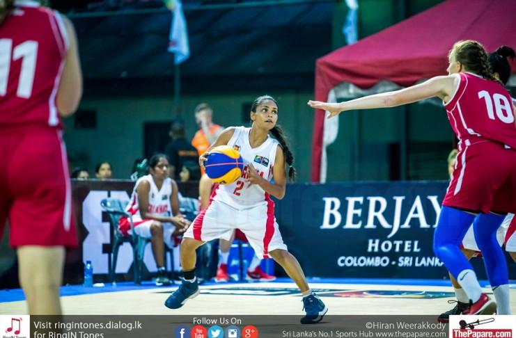 Sri Lanka women's basketball team