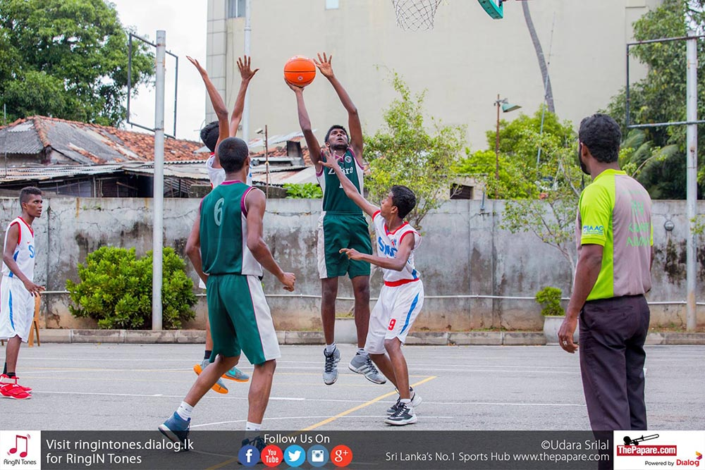 Sri Lanka – Schools – Basketball – Zahira – St. Michael's – U19 – B Division – Third Place