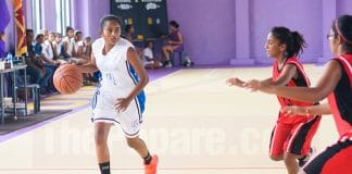 Sri Lanka – Schools – Basketball - LISW – Gateway – Girls Semi Final – IIB17