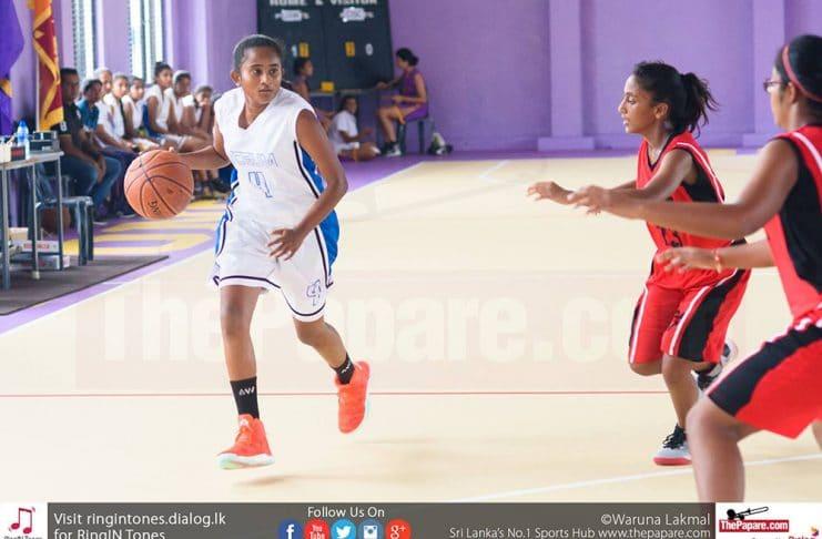 Sri Lanka – Schools – Basketball - LISW – Gateway – Girls Semi Final – IIB17