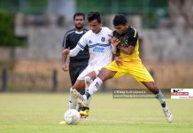 St. Joseph's College v Mahinda College – Group A – ThePapare Football Championship 2018