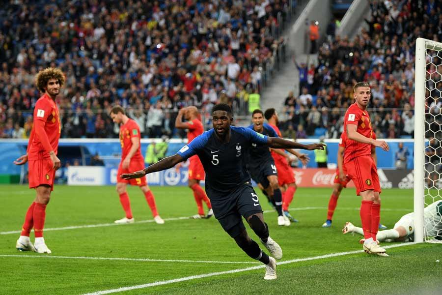 France v Belgium - Semi Final Final (2018 FIFA World Cup)