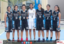 Gateway Girls Basketball Team 2017