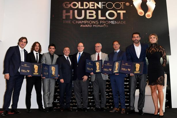 Class of 2016: Carles Puyol and Claudio Ranieri were among the legends recognised this year