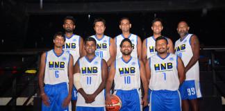 HNB men's basketball team 2017