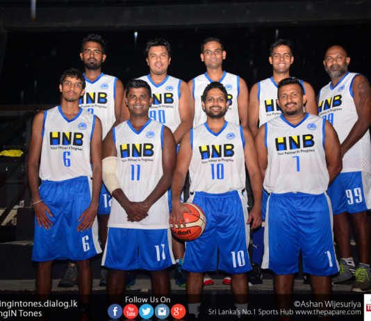 HNB men's basketball team 2017