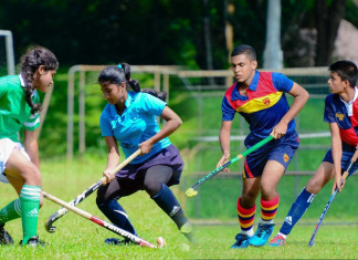 Kingswood and Seethadevi Kandy District Hockey Champions