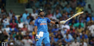 Combative batting, wrist spin help India