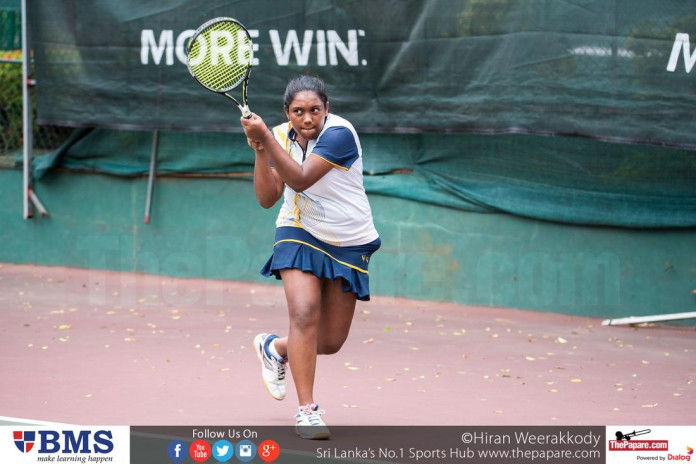 Visakha Vidyalaya Tennis Player