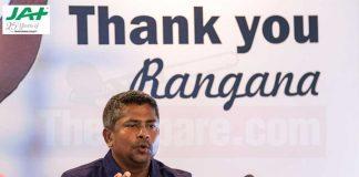 Legendary left-arm spinner, Rangana Herat