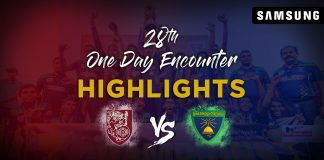 Match Highlights - Sri Sumangala College Vs Moratu Maha Vidyalaya | 28th One Day Encounter