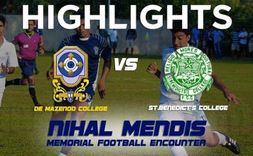 Nihal Mendis Memorial Football Encounter