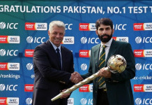 ICC Mace presentation to Misbah