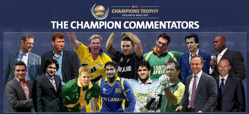 ICC TV commentary