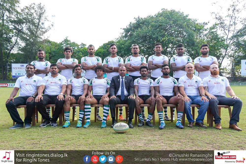 Photos: Sri Lanka Sevens team for Commonwealth Games 2018