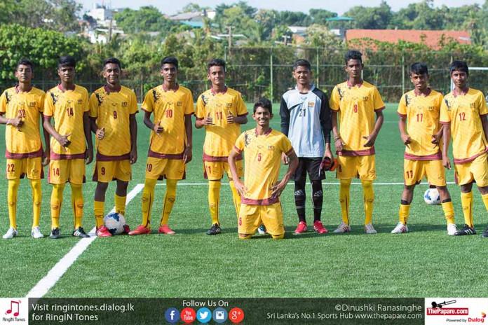 Final Squad for SAFF U15 Championship