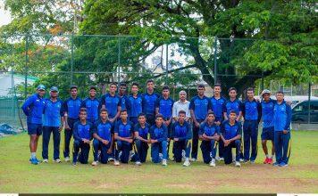 SL U19 Cricket Team