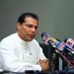 Minister of Sports Hon. Dayasiri Jayasekara
