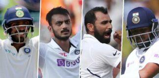 BCCI named indian squad