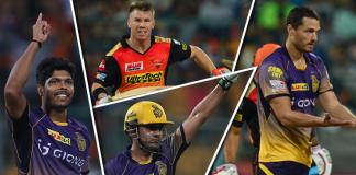 IPL 2017 Sunrises Hydrabad v Kolkata knoghtriders report