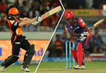 IPL Sunrisers Hyderabad vs Delhi daredevils report
