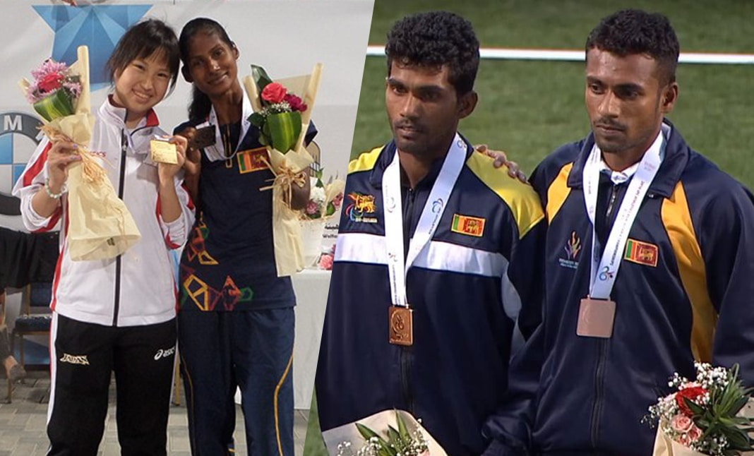 Jayalath, Indumathi bag 4 Golds as Sri Lanka gets 15 medals