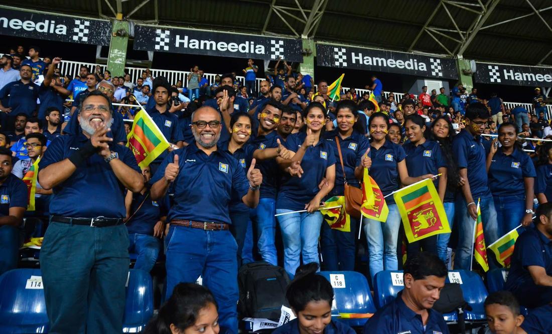 Hameedia rewards ardent Sri Lanka Cricket fans