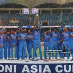 Inda won the Asia Cup 2018