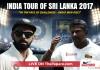 India tour of Sri Lanka 2017