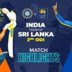 India tour of Sri Lanka 2021 | 2nd ODI – Match Highlights