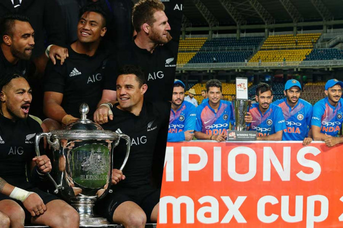 Indian Cricketers are very All-Black-like