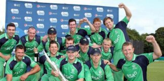 Ireland announce T20 World Cup Squad