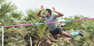 Ishara Sandaruwan's Record breaking jump