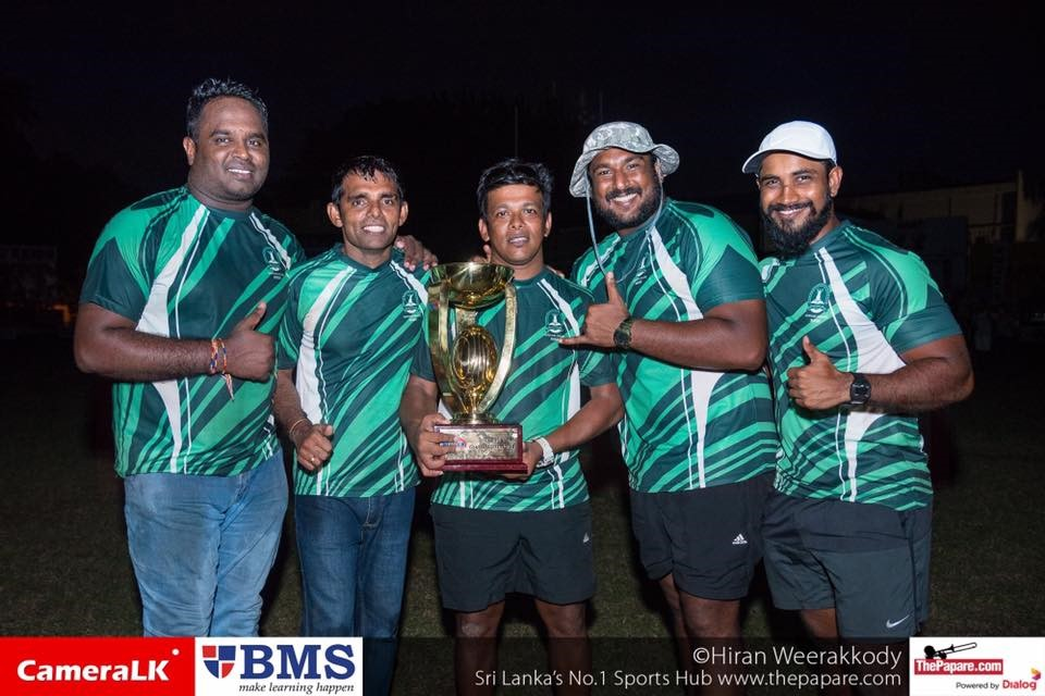 Isipathana College won the Singer Schools Rugby League in 2016 when Henry was in charge of the forwards