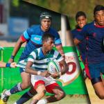 U18 Rugby semi finals Isipathana v St. Anthony's and Zahira vs Kingswood college