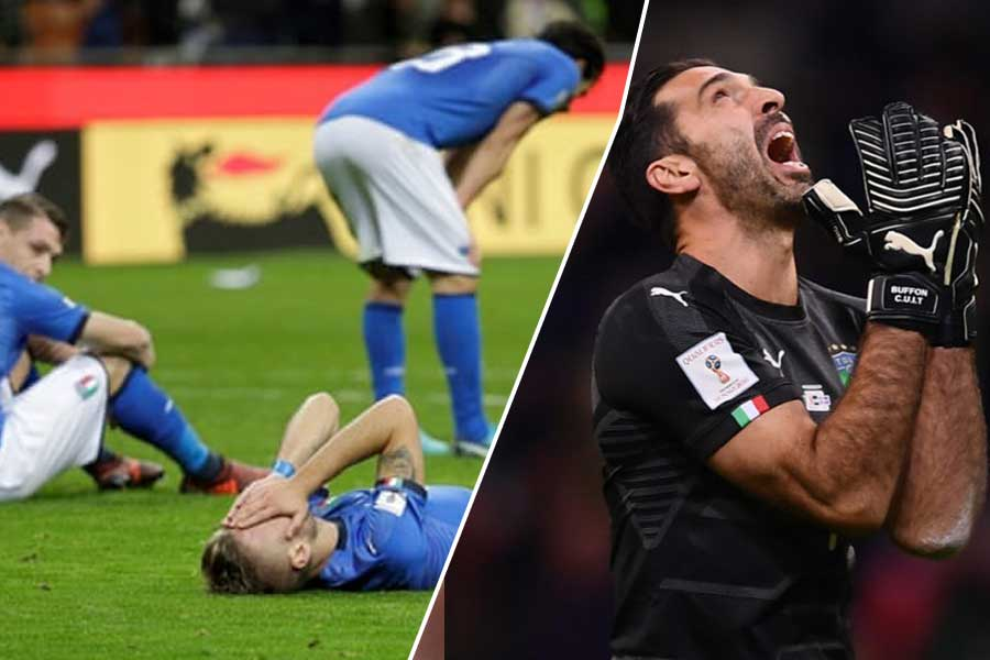 Italy fails to qualify for FIFA World Cup