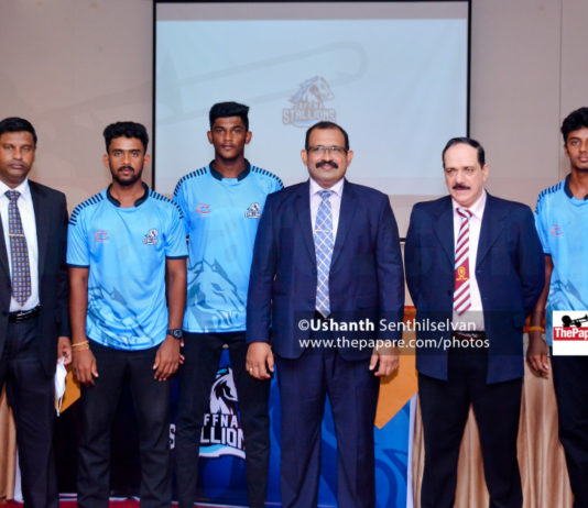 Jaffna Stallions Launch and press meet
