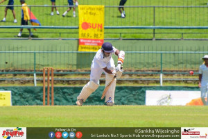 Janidu Himsara scored an important 34 in the big match
