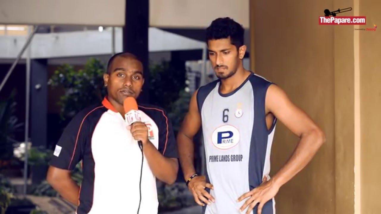 Janitha Surath - Men's Volleyball Captain (SAG 2016)
