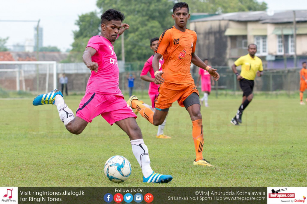 Java Lane's Malaka Perera in action against Matara City - FA Cup Pre Quarter Final