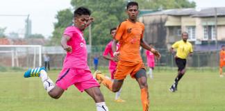 Java Lane's Malaka Perera in action against Matara City - FA Cup Pre Quarter Final