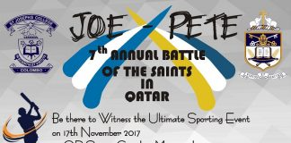 Battle of the Saints in Qatar