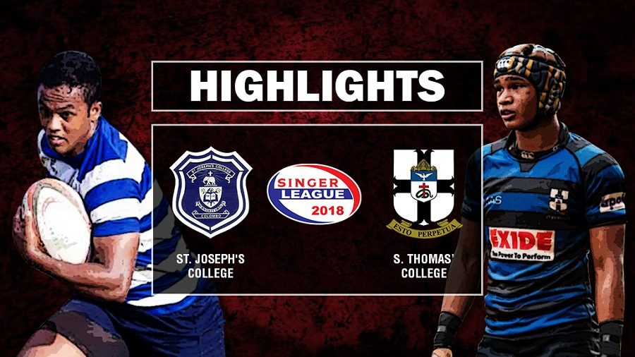 Match Highlights – St. Joseph's College v S. Thomas' College Schools Rugby #6