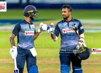 Kamil Mishara and Dasun Shanaka