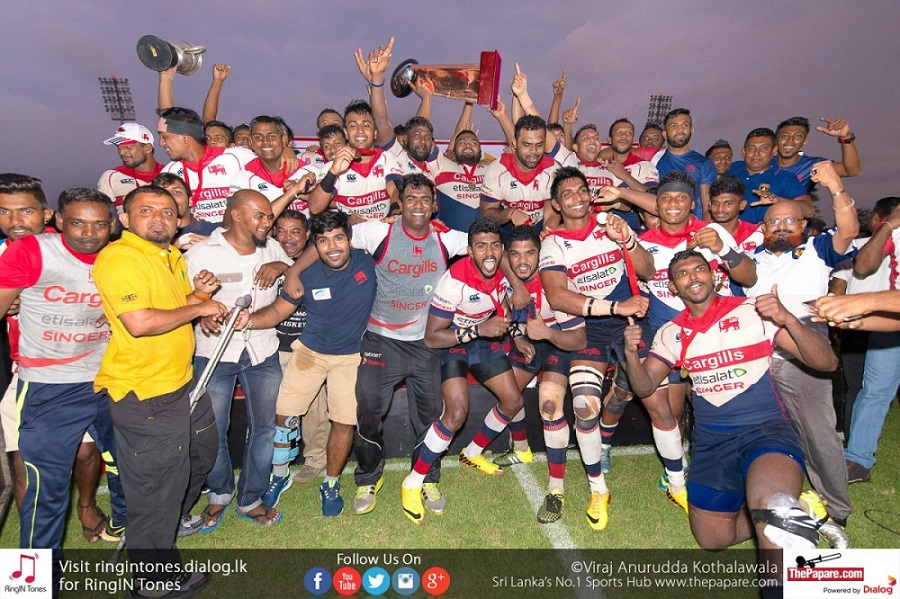 Kandy Sports Club defeated CR & FC to win the 2016 title