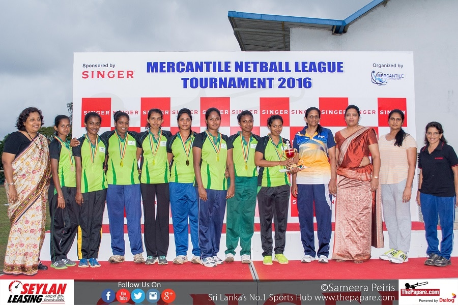 Kanrich - 'C' Division Champions (Mercantile Netball League 2016)