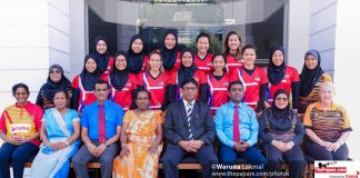 Kenya & Malaysia Netball Teams
